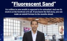 fluorescent sand