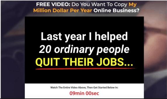 Copy the Millionaire Website - Honest Review 1