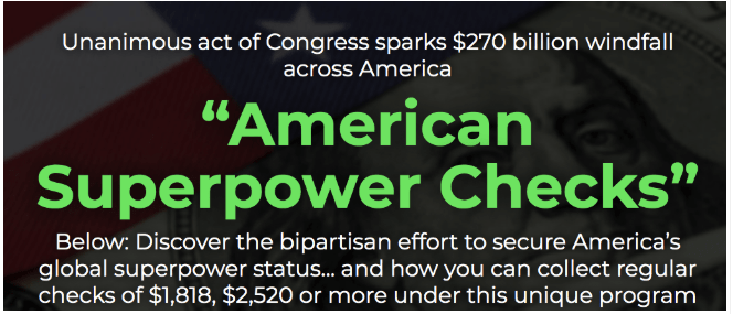 american superpower checks