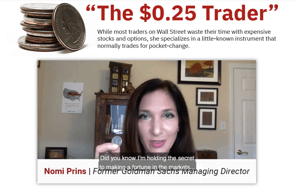 25 Cent Trader by Nomi Prins