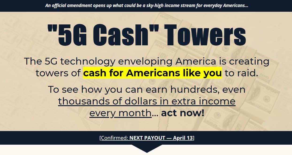 5G Cash Towers by Zach Scheidt