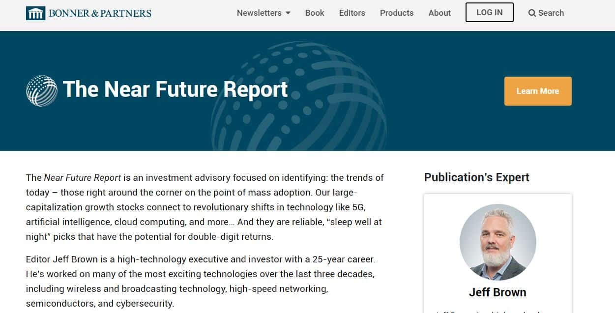 Near Future Report by Jeff Brown