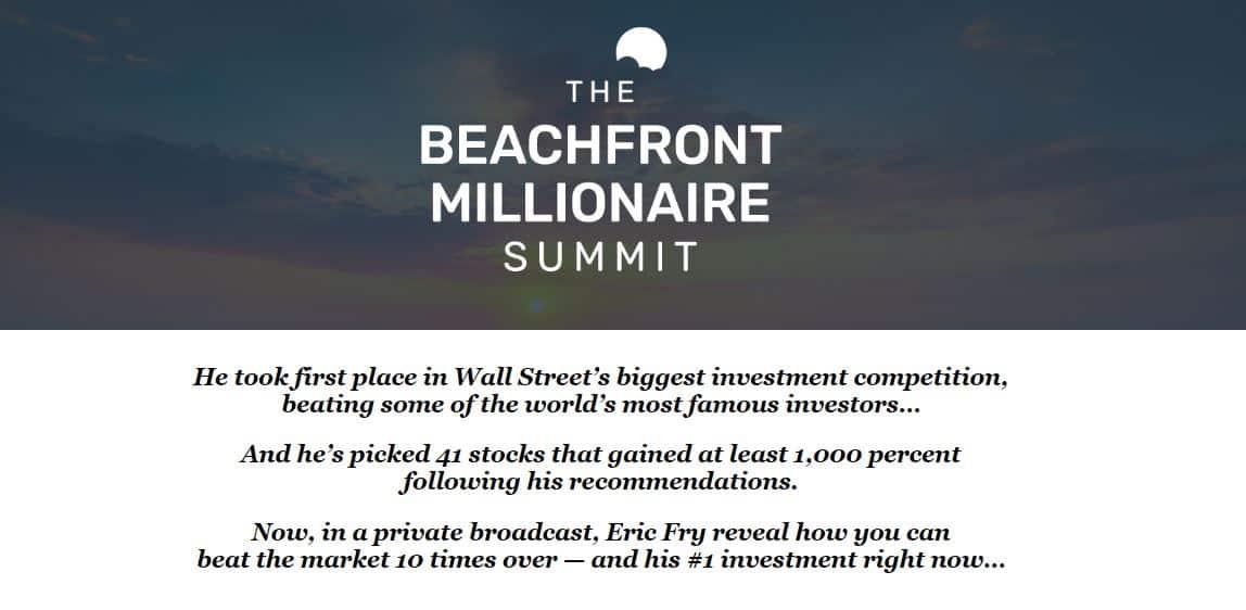 The Beachfront Millionaire Summit Review