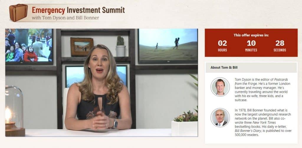 Emergency Investment Summit