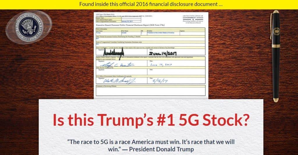 Trump's #1 5G Stock