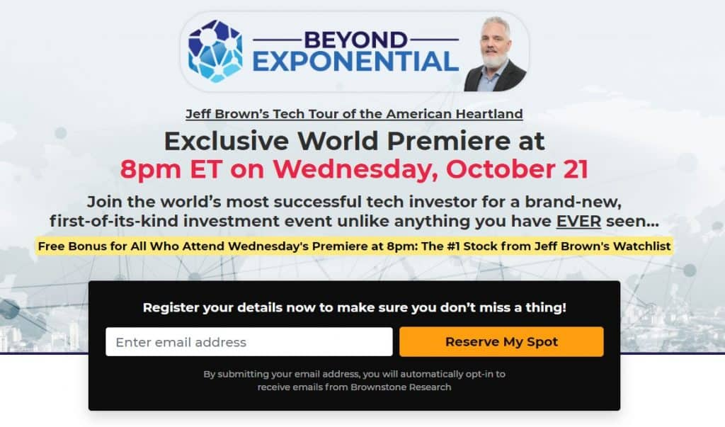 Jeff Brown Beyond Exponential