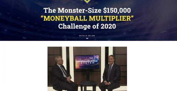 Moneyball Multiplier Challenge 2020 Louis Navellier