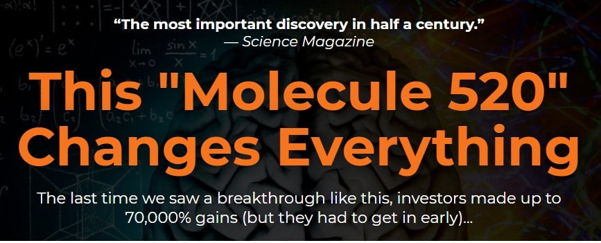 """What Is Jeff Siegel's """"Molecule 520"""" Pitch? 2"""