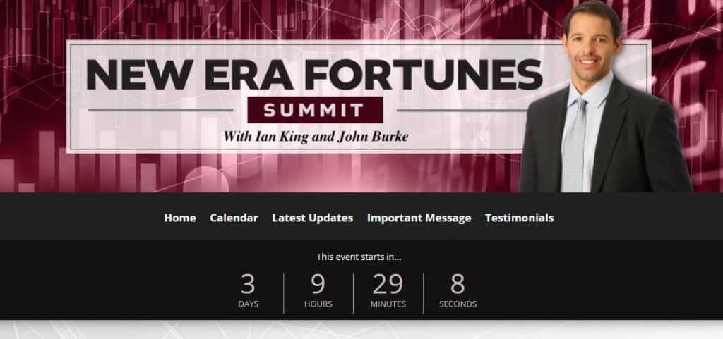 New Era Fortunes Summit by Ian King