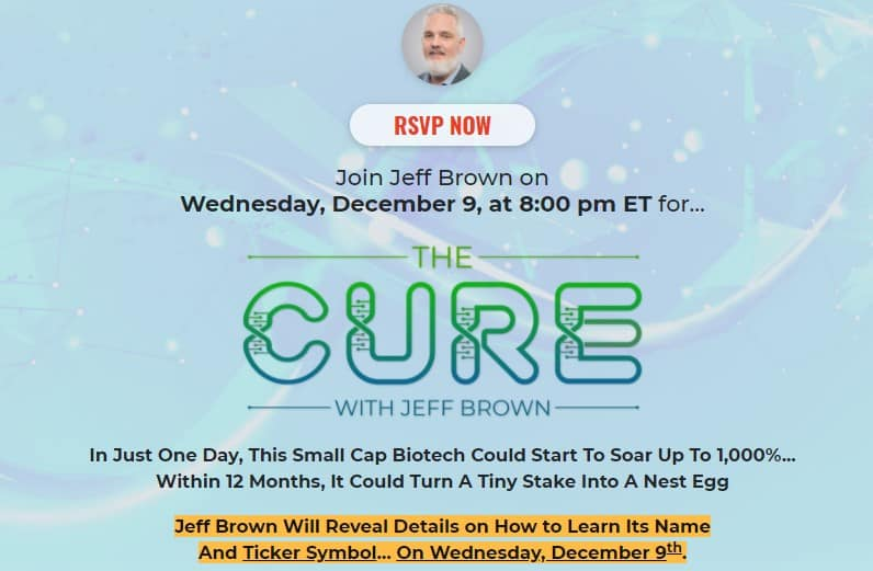 Jeff Brown The Cure Event