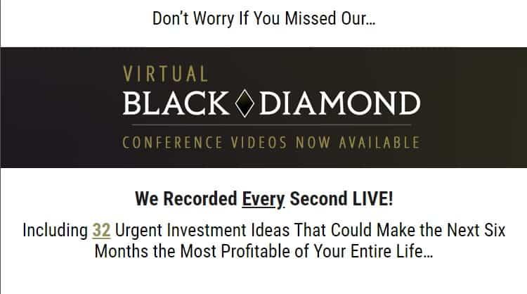 What Is The Virtual Black Diamond? [Money Map Press] 2