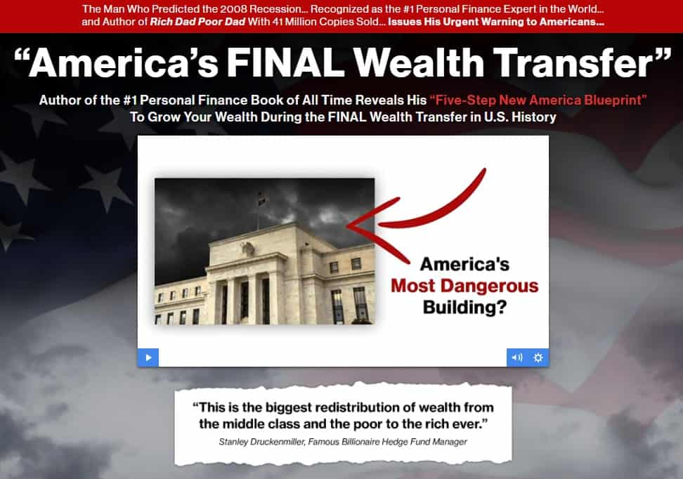 Americas Final Wealth Transfer by Robert Kiyosaki