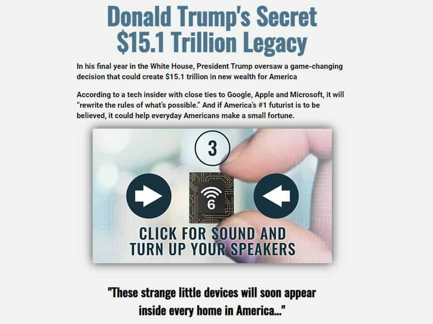 Donald Trump's Secret $15.1 Trillion Legacy (George Gilder)