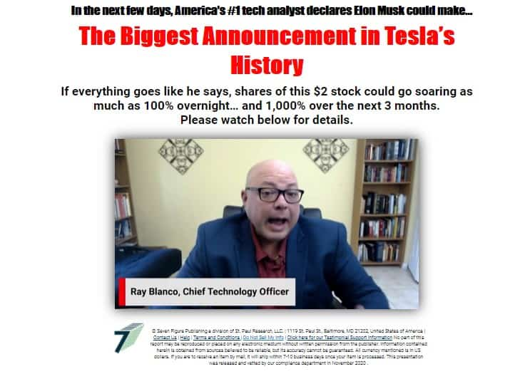 The Biggest Announcement in Tesla's History (Ray Blanco)